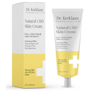 Dr Kerklaan Natural CBD Skin Cream 2 oz