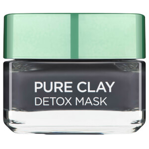 L'Oreal Paris Pure Clay Detox Face Mask 50ml (Free Gift)