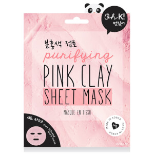 Oh K! Purifying Pink Clay Sheet Mask (Free Gift)