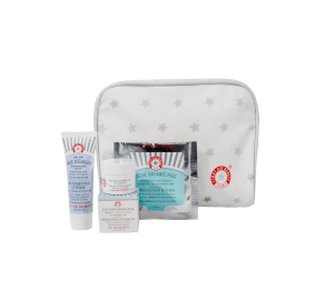 First Aid Beauty 3-Piece Beauty Bag (Worth $17.00)