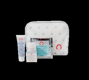 First Aid Beauty 3-Piece Beauty Bag (Worth $17.00)