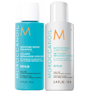 Moroccanoil Moisture Repair Shampoo and Conditioner Duo (Free Gift)