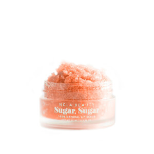 NCLA Beauty Sugar Peach Lip Scrub 15ml