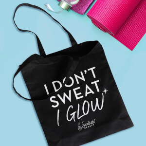 Seoulista 'I Don't Sweat, I Glow' Gym Tote Bag (Free Gift)