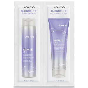 Joico Blonde Life Violet Shampoo and Conditioner Duo 2 x 10ml (Free Gift)