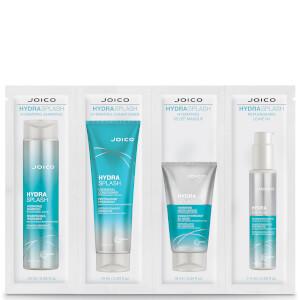 Joico Hydra Splash Hydrating Bundle for Fine/Medium Hair 4 x 10ml (Free Gift)
