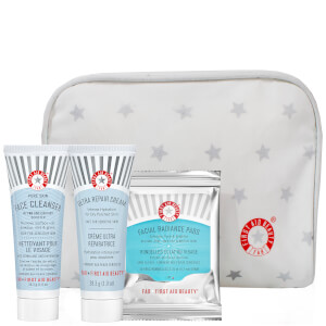 First Aid Beauty Cleanse, Exfoliate and Moisturize Set (Free Gift)