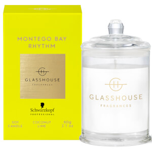 Schwarzkopf x Glasshouse Montego Bay Rhythm Soy Candle 60g (Free Gift)