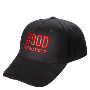 Dsquared2 D2 Wood PH Cap - Black