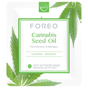 FOREO Cannabis Seed Oil UFO Calming Face Mask - Single