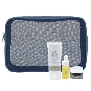 Omorovicza Blue Mesh Bag 3 Piece Gift Set