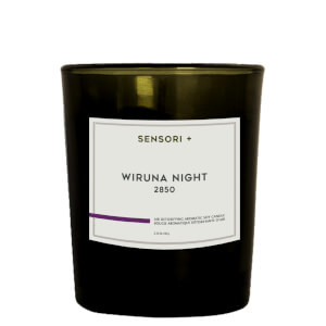 SENSORI+ Air Detoxifying Aromatic Soy Candle - Wiruna Night 60g
