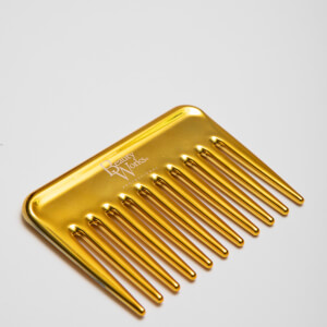 Beauty Works Mini Comb - Gold