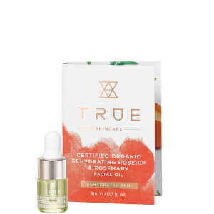 True Skincare Certified Organic Rehydrating Rosehip and Rosemary Facial Oil 2ml