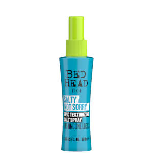 TIGI Bed Head Salty Not Sorry Texturising Salt Spray for Natural Undone Hairstyles 100ml