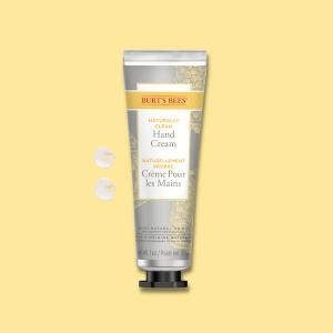 Burt's Bees Naturally Clean Hand Cream Blister 24/1Oz Uni