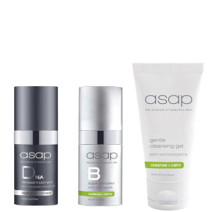 asap 3 Piece Gift - DNA, Super B and Gentle Cleansing Gel