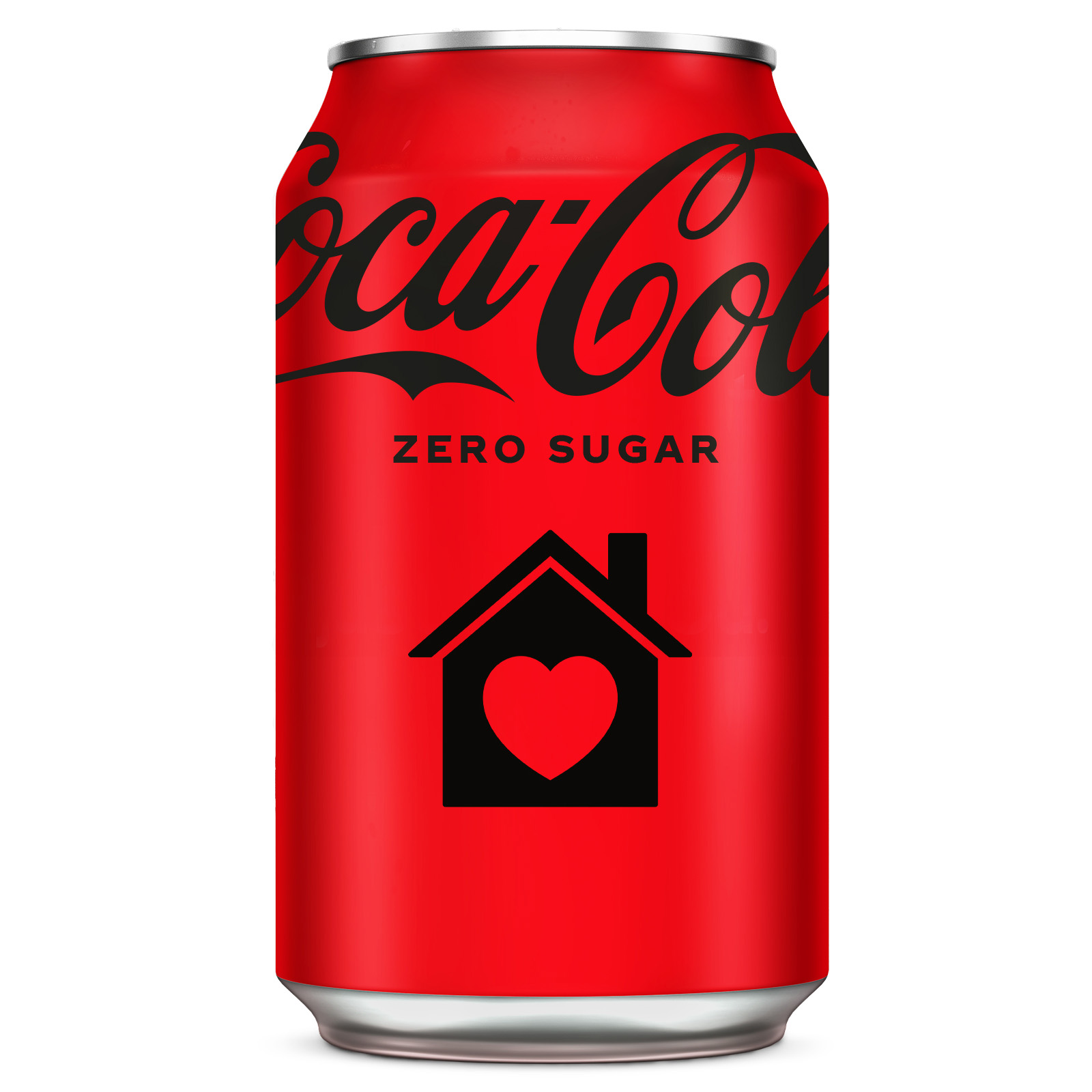 Personalised Coca Cola can including your message