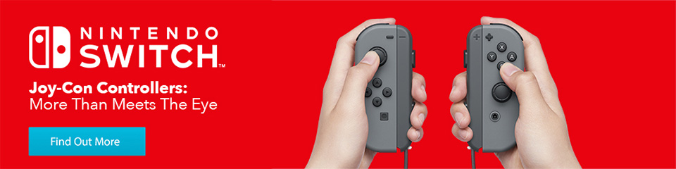 Joy-Con Controllers: More Than Meets The Eye
