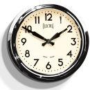 50er Jahre Elektrische Uhr - Chrome