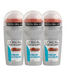L'Oreal Paris Men Expert Fresh Extreme Deodorant Roll-On (1.7oz) Trio