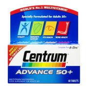 Centrum Advance 50 Plus Multivitamin Tablets - (60 Tablets)