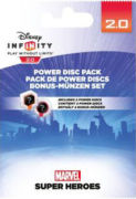 Disney Infinity 2.0 Power Discs Pack - Marvel