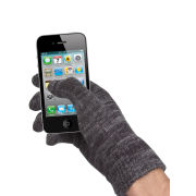 Touchies Touch Screen Gloves - Grey Marl