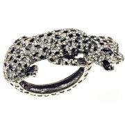 Rosie Fox Silver Leopard cuff