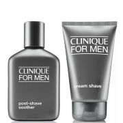 Clinique For Men Cream Shave and Post-Shave Soother (Bundle)