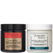 Christophe Robin Sea Salt Scrub and Regenerating Mask with Rare Prickly Pear Seed Oil 250ml