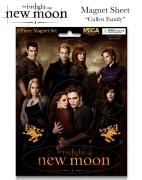 Twilight New Moon - Magnet Sheet - Cullen Family