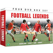 Football Legends: Best, Brady, Charlton and Law