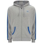Gola Men's Milford Full Zip Hoody - Grey Marl/Cobalt Blue