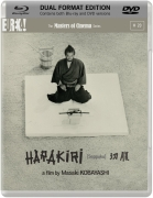 Harakiri (Masters of Cinema) (Blu-Ray en DVD)