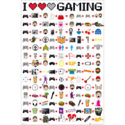 I Love Gaming - Maxi Poster - 61 x 91.5cm