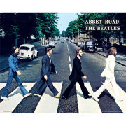 The Beatles Abbey Road - Mini Poster - 40 x 50cm