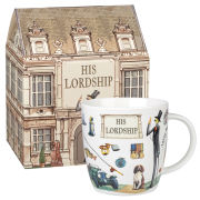 Queens at Your Leisure Squash Mug His Lordship Gift Box (275ml) - Multi