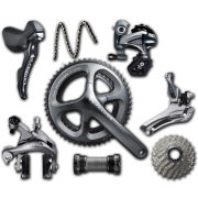 シマノUltegra 6800 11 speed Compact Groupset - Grey