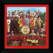 "The Beatles Sgt Pepper - 12"""" x 12"""" Framed Album Prints"