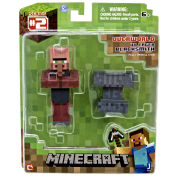Minecraft - 3 Inch Black Smith Villager Figure