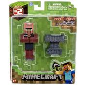 Minecraft - 3 Inch Black Smith Villager Figure