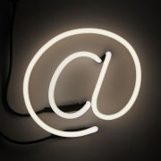 Seletti Neon Font Shaped Wall Light - @
