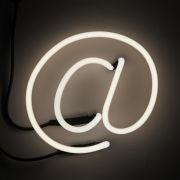 Seletti Neon Font Shaped Wall Light - @