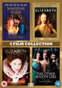 Shakespeare In Love/Elizabeth/Elizabeth: Golden Age/Other Boleyn Girl