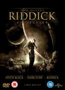 The Riddick Verzameling: Pitch Black, Chronicles of Riddick: Dark Fury and Chronicles of Riddick