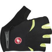 Castelli Arenberg Gel Gloves - Black/Yellow
