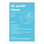 White Frame A3