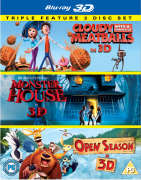 Cloudy with a Chance of Meatballs 3D / Monster House 3D / Open Seizoen 3D