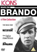 Marlon Brando:  The Wild One/On the Waterfront/The Ugly American/The Appaloosa